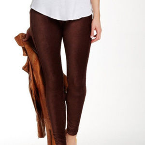 Spanx Ready-to-Wow! Cord Corduroy Leggings- Brown